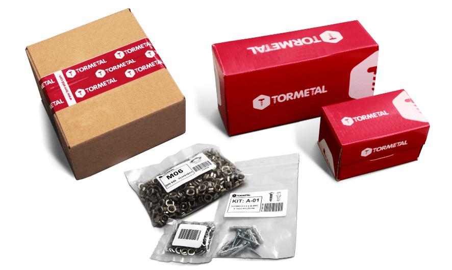Gestión de las fijaciones mediante la adaptación de los envases y la confección de conjuntos de producto KITS