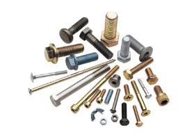 Diversos materiales y tratamientos para productos de fijación